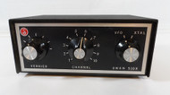 Swan 510X Crystal Controlled External Oscillator with 10 Crystal Sockets (includes 3 Crystals) In Excellent Condition