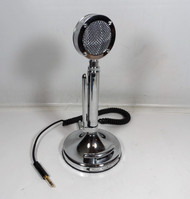 "Astatic D-104 Silver Eagle ""Final Edition"" Amplified Desk Microphone in Excellent Condition S/N 01768"