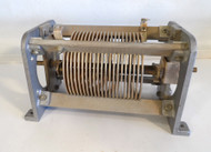 Gates 29 uH High Quality, Silver Plated Roller Inductor from Broadcast Transmitter in Excellent Condition P/N 26-VC-2144