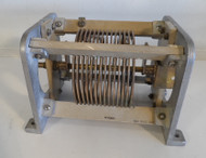 Gates 17 uH High Quality, Silver Plated Roller Inductor from Broadcast Transmitter in Excellent Condition P/N 15-VC-1444