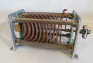 Gates / Harris 58 uH High Quality,  Roller Inductor (Less the Roller Assembly)  from Broadcast Transmitter in Excellent Condition P/N 62-VC-2845