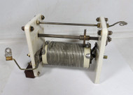 16.2 uH High Quality, Silver Plated Roller Inductor  from BC-939B Antenna Tuner in Excellent Condition