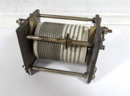 EF Johnson 11.3 uH High Quality, Commercial Silver Plated Roller Inductor in Excellent Condition