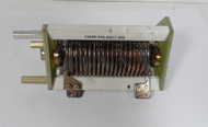 7 uH High Quality, Commercial Silver Plated Roller Inductor in Excellent Condition