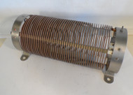 Commercial 126 uH High Quality, Plated Fixed Inductor  from Broadcast Transmitter in Excellent Condition
