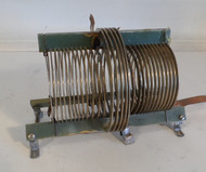 29.5 uH Commercial High Quality,  Fixed Inductor with outer 6 uH Coil  from Broadcast Transmitter in Excellent Condition