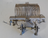 EF Johnson 29.5 uH Commercial High Quality,  Fixed Inductor with outer 6 uH Coil & Shorting Switch, from Broadcast Transmitter in Excellent Condition P/N 236-511
