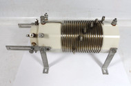Ceramic Link Coupled 21 uh Inductor Coil with Several Taps and adjustable 7 uh  Inner Link Coil AS NEW!