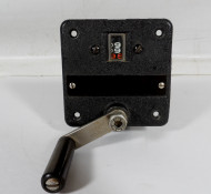 B&W Heavy Duty 99 Turn, Turns Counter Dial for Vacuum Capacitors and Roller Inductors