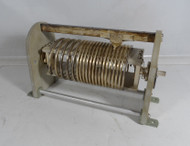 EF Johnson 226-3A 16 uH High Quality, Silver Plated Roller Inductor  from Broadcast Transmitter in Excellent Condition