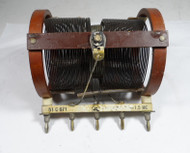 Hallicrafters BC-610 Plug In Coil C-455  1.0 to 1.5 MC in Fair Condition #3
