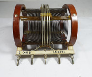 Hallicrafters BC-610 Plug In Coil C-498-B  1.5 to 2.0 MC in Very Good Condition #1