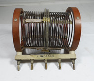 Hallicrafters BC-610 Plug In Coil C-388  3.3 to 4.4 MC in Fair Condition #1