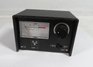 Vanco SWR-7 Small SWR Meter covers 1.7 to 30 MHz 10/100 watt, for Ham or CB Radio in Very Good Condition