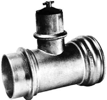 "8"" X 4"" RING LOCK IN-LINE TEE VALVES"