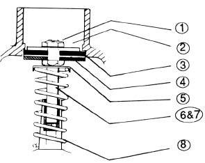 "(2) UPPER STEEL DISC, ""C"" SERIES (WR2-5-4C, WR2-6-4C, WR7-4C)"