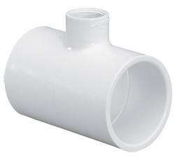 8X8x6 PVC Reducing Tee Slip Sch