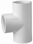 "1"" PVC Tee FPT Sch 40 (PF 405-010)"
