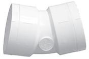 """6"""" PVC 22-1/2° Ell Slip Sch 40 (PF 416-060)"""