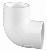 """10"""" PVC 90 ELL SLIP SCH 125 (PF 12506-100)"""