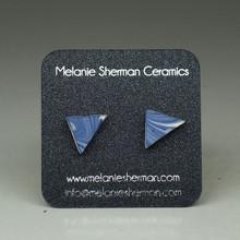 Melanie Sherman - Triangle Ear Studs 1