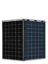JA Solar 310W Mono Perc Bifacial Double Glass Black Framed Module