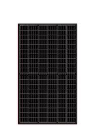 Longi Solar MONO All Black PERC Half Cell 315W