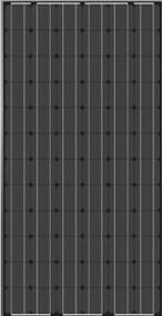 JA Solar JAM5(L)(BK)-72-185/SI 185 Watt Solar Panel Module image
