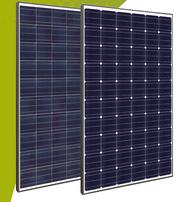 Innotech Solar - ITS EcoPlus PolyUp 210 black frame