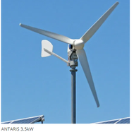ANTARIS 3.5kW UNO-DM-4.0-TL Wind Turbine Package