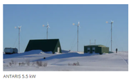 ANTARIS 5.5 kW Smart!wind 5.5 Wind Turbine Package