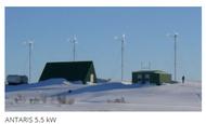 ANTARIS 5.5 kW Smart!wind 5.5 Combination Water Heating grid connected Wind Turbine Package