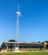 Ryse Energy G-11 11kW Wind Turbine