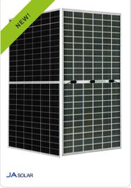 Ja Solar 405W 72 Cell Mono PERC Bifacial Double Glass Half Cell Silver Frame Solar Panel Module