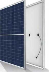Trina SplitMax 285W Silver Split Cell Poly Solar Panel Module