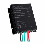300W 12V WATERPROOF WIND CHARGE CONTROLLER / REGULATOR FOR 12V WIND TURBINES UP TO 300W
