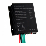 600W 24V WATERPROOF WIND CHARGE CONTROLLER / REGULATOR FOR 24V WIND TURBINES UP TO 600W