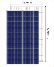 PV Power PVQ3 220 Watt Solar Panel Module image