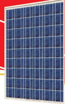 Sunrise SR-P654 195 Watt Solar Panel Module image