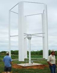 Maglev Vertical Turbine 2.5kW Wind Turbine