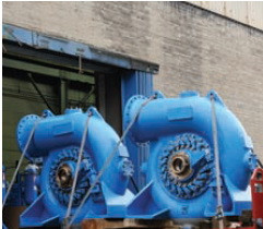 Gilkes Pelton Hydro Turbine Image