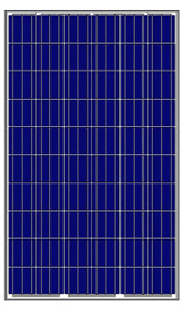 Amerisolar AS-6P30-250W 250 Watt Solar Panel Module Image