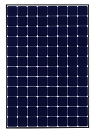 SunPower SPR-E20-245W 245 Watt Solar Panel Module Image
