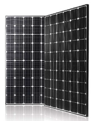 LG Mono X Neon LG300N1C-B3 Black 300 Watt Solar Panel Module