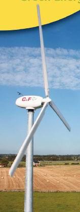 C&F Green Energy 11kW Wind Turbine