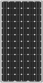Amerisolar AS-5M 190 Watt Solar Panel Module