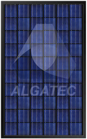 Algatec Solar ASM Poly 6-6 Black 250 Watt Solar Panel Module