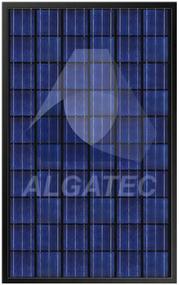 Algatec Solar ASM Poly 6-6 Black 250 Watt Solar Panel Module