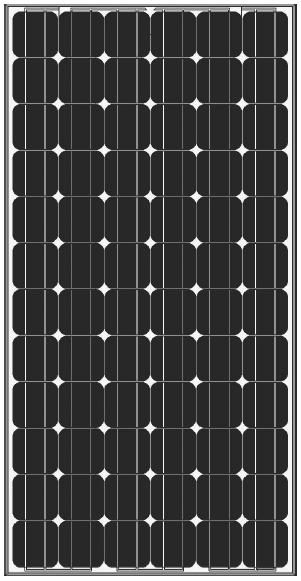 Amerisolar AS-5M 185 Watt Solar Panel Module