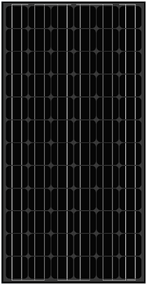 Amerisolar AS-5M Black 195 Watt Solar Panel Module